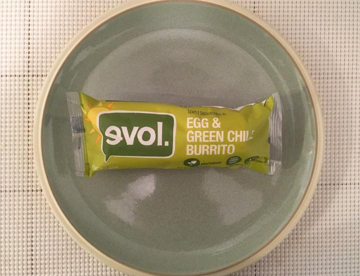 Evol Egg & Green Chile Burrito