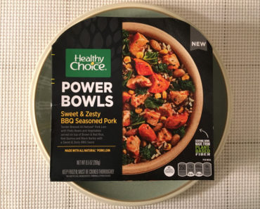 Healthy Choice Sweet & Zesty BBQ Seasoned Pork Bowl