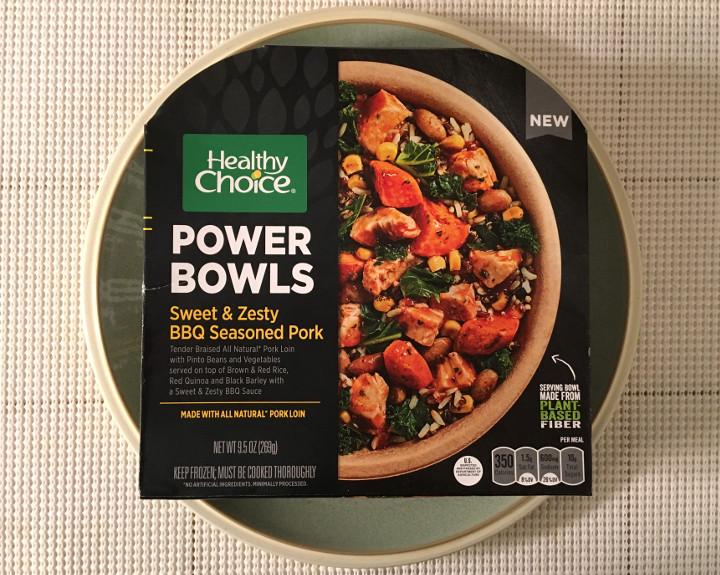 Healthy Choice Sweet & Zesty BBQ Seasoned Pork Bowl