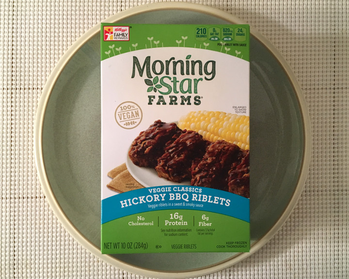 Morningstar Farms Veggie Classics Hickory Bbq Riblets Review Freezer Meal Frenzy