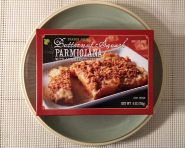 Trader Joe's Butternut Squash Parmigiana with an Amaretti Crunch