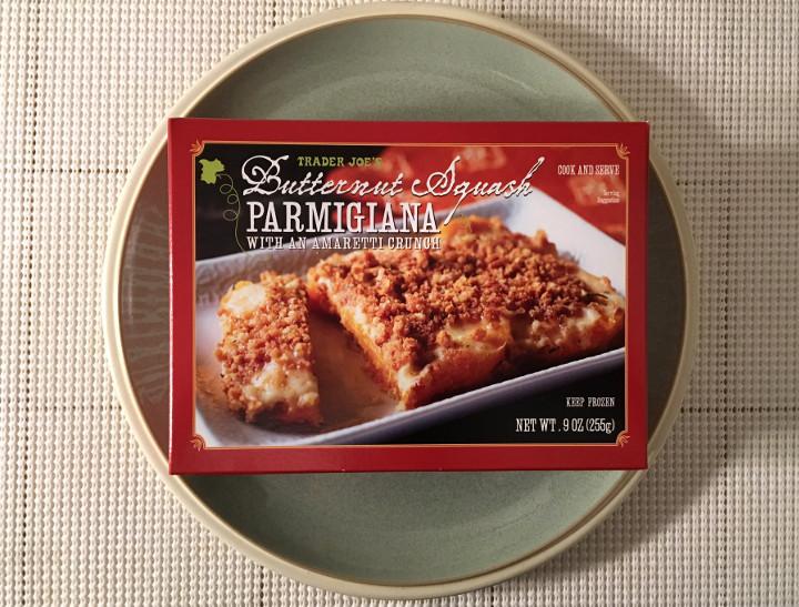Trader Joe's Butternut Squash Parmigiana with an Amaretti Crunch