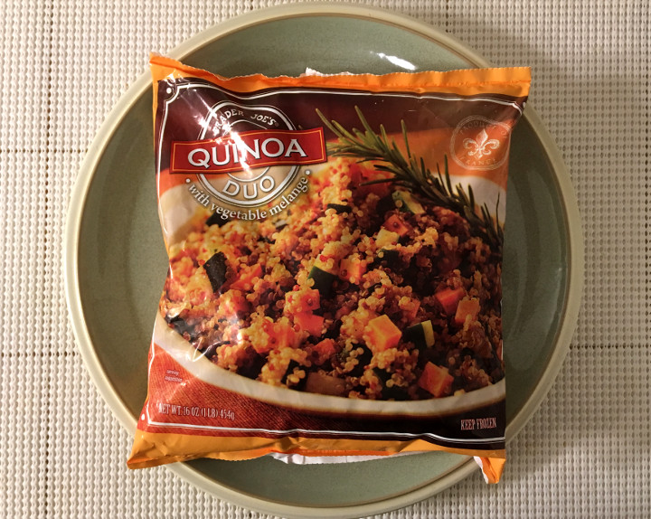 Trader Joe's Quinoa Duo with Vegetable Melange