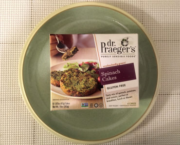 Dr. Praeger's Spinach Cakes Review