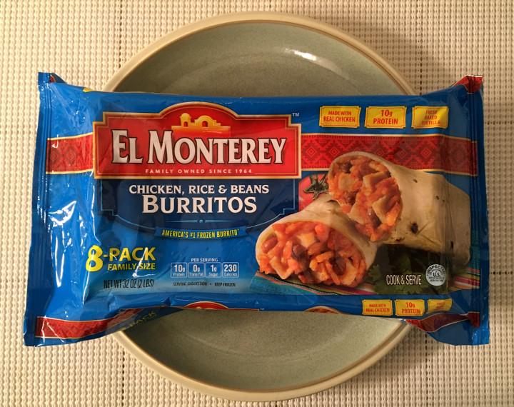 El Monterey Chicken, Rice & Beans Burritos