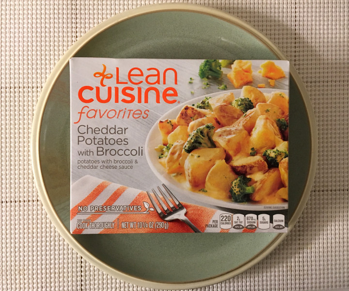 Lean Cuisine Cheddar Potatoes with Broccoli