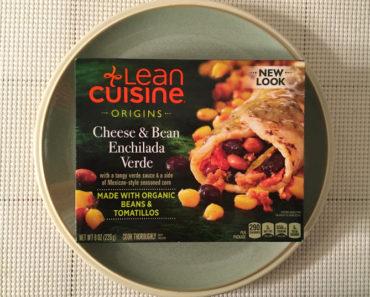 Lean Cuisine Origins Cheese & Bean Enchilada Verde Review