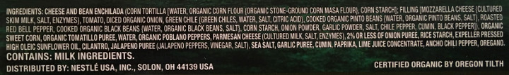 Lean Cuisine Origins Cheese & Bean Enchilada Verde