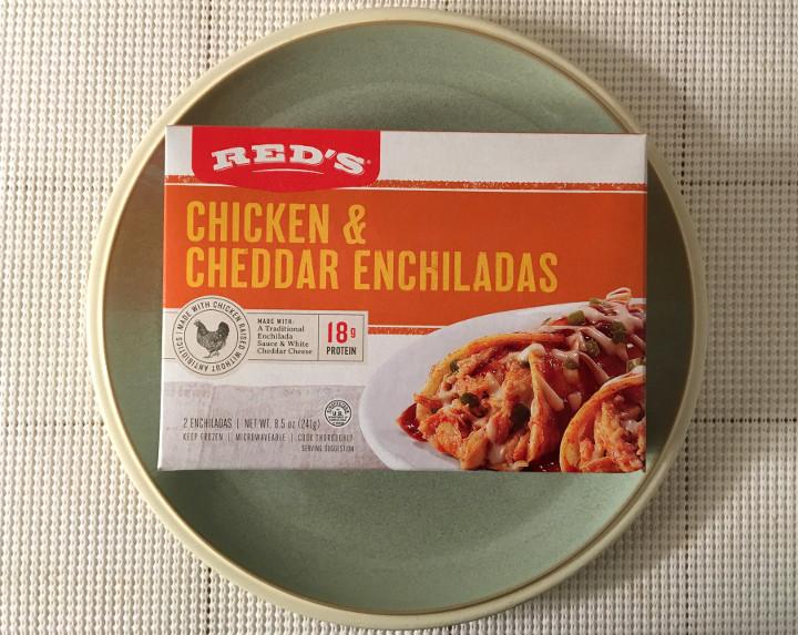 Red's Chicken & Cheddar Enchiladas
