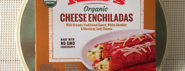 Red's Organic Cheese Enchiladas