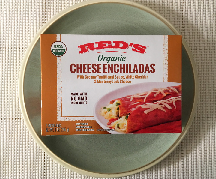 Red's Organic Cheese Enchiladas