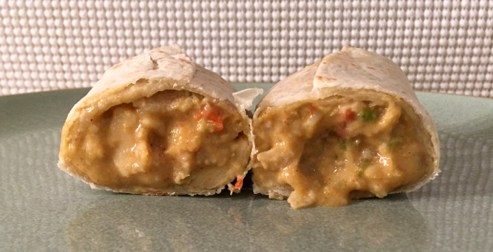 Red's Chicken & Cheddar Burrito