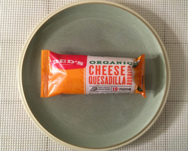 Red's Organic Cheese Quesadilla Burrito