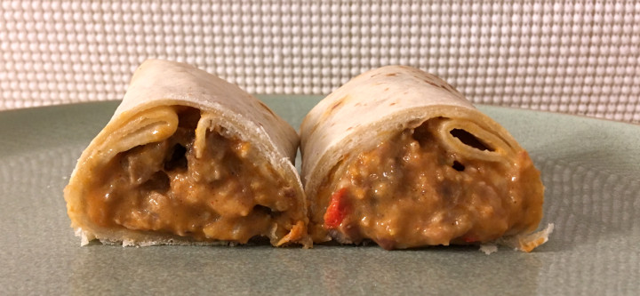 Red's Steak & Cheddar Burrito