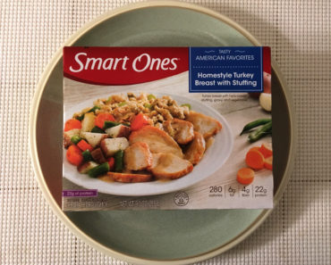 Smart Ones Homestyle Turkey Breast with Stuffing