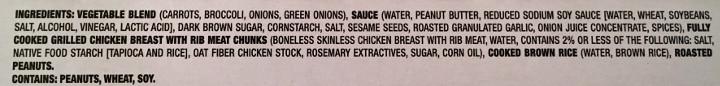 Smart Made Spicy Peanut Chicken & Broccoli