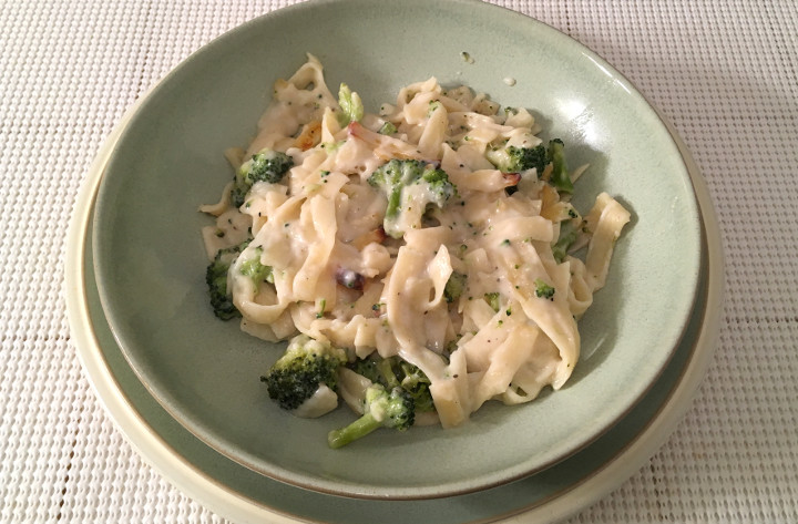 Stouffer's Fettuccini Alfredo with Broccoli