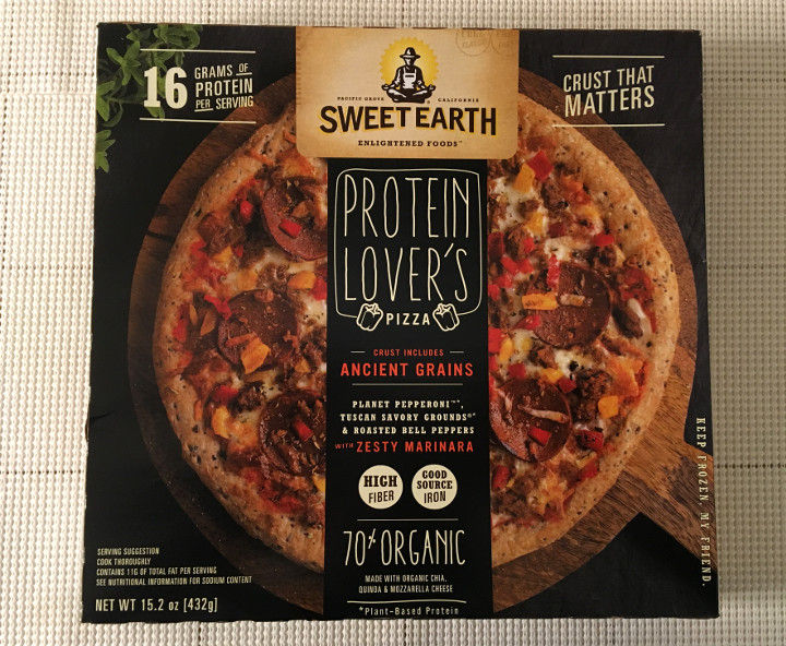 Sweet Earth Protein Lover's Pizza