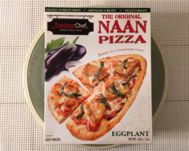 Tandoor Chef Eggplant Naan Pizza