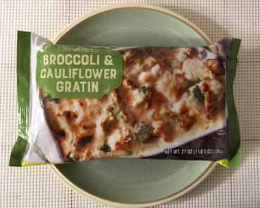 Trader Joe's Broccoli & Cauliflower Gratin