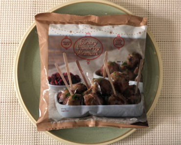 Trader Joe's Turkey Cranberry Meatballs