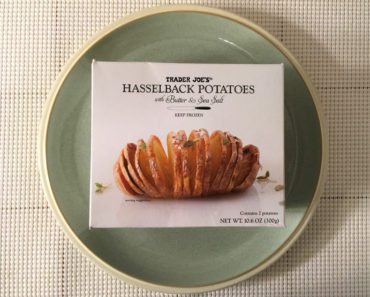 Trader Joe's Hasselback Potatoes with Butter & Sea Salt