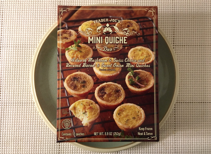 Trader Joe's Mini Quiche Duo