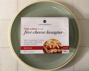 Lunds & Byerlys Five Cheese Lasagna Review