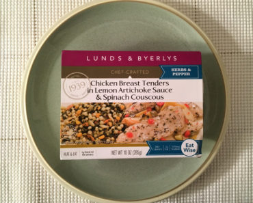 Lunds & Byerlys Chicken Breast Tenders in Lemon Artichoke Sauce & Lemon Couscous