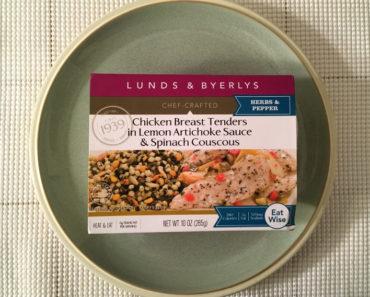 Lunds & Byerlys Chicken Breast Tenders in Lemon Artichoke Sauce & Lemon Couscous Review
