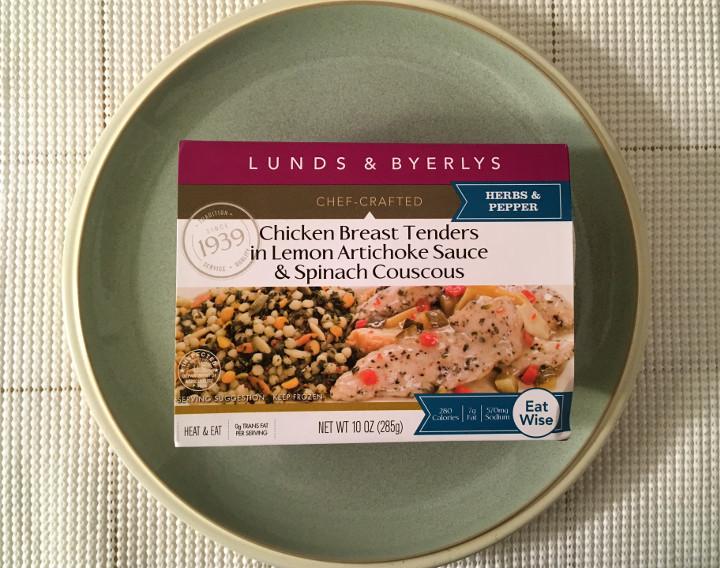 Lunds & Byerlys Chicken Breast Tenders in Lemon Artichoke Sauce & Lemon Couscous