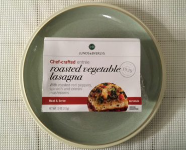 Lunds & Byerlys Roasted Vegetable Lasagna Review