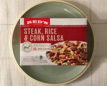 Red's Steak, Rice & Corn Salsa