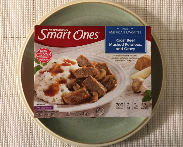 Smart Ones Roast Beef, Mashed Potatoes, and Gravy