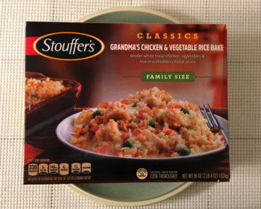 Stouffer's Grandma's Chicken & Vegetable Rice Bake