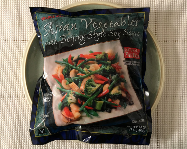 Trader Joe's Asian Vegetables with Beijing Style Soy Sauce