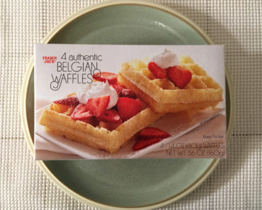 Trader Joe's Authentic Belgian Waffles Review