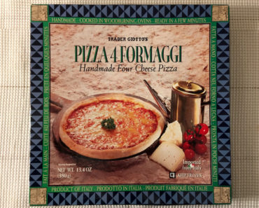 Trader Joe's Pizza 4 Formaggi Handmade Four Cheese Pizza