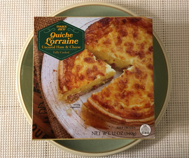 Trader Joe's Quiche Lorraine