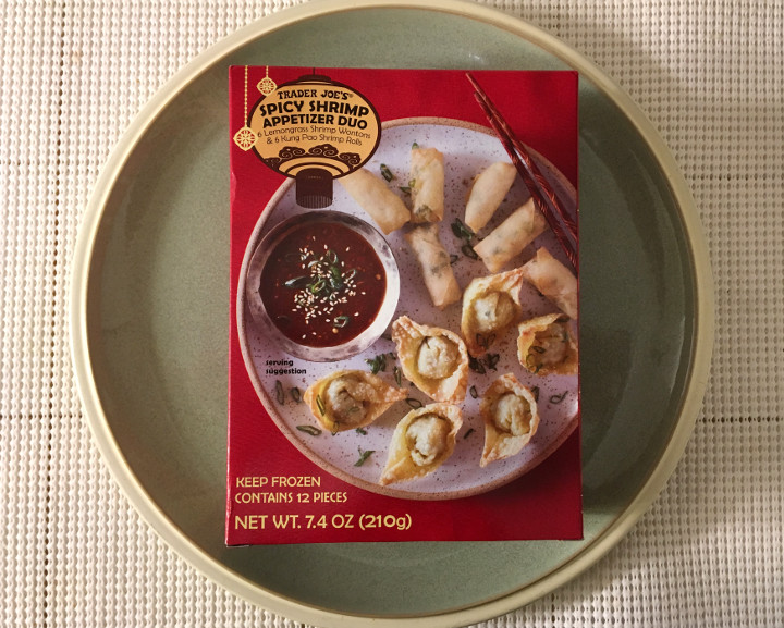 Trader Joe's Spicy Shrimp Appetizer Duo