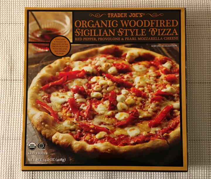 Trader Joe's Organic Woodfired Sicilian Style Pizza