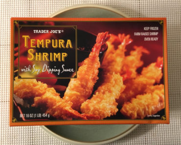 Trader Joe's Tempura Shrimp with Soy Dipping Sauce