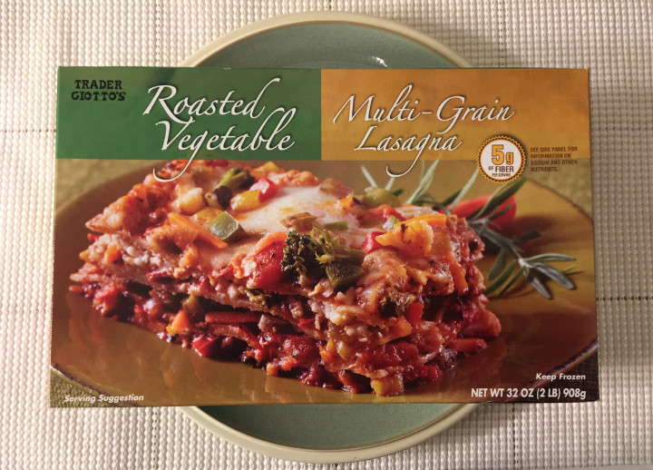 Trader Joe's Roasted Vegetable Multi-Grain Lasagna