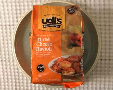 Udi's Three Cheese Ravioli Review