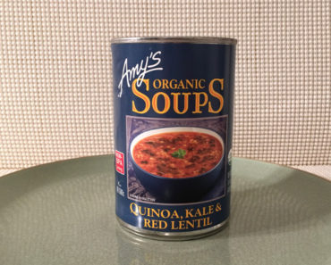 Amy's Quinoa, Kale & Red Lentil Soup