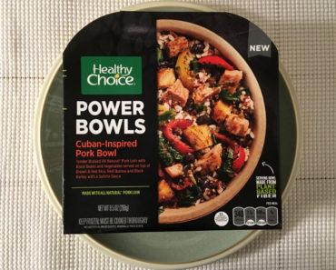 Healthy Choice Cuban-Inspired Pork Bowl Review