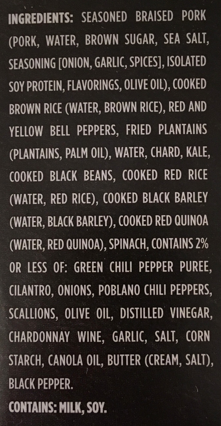 Healthy Choice Cuban-Inspired Pork Bowl