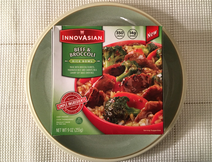 InnovAsian Beef & Broccoli Rice Bowl
