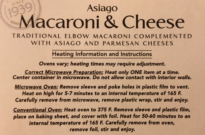 Lunds & Byerlys Asiago Macaroni & Cheese