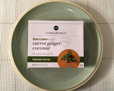 Lunds & Byerlys Carrot Ginger Coconut Soup Review